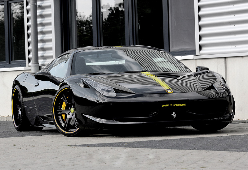 Ferrari 458 Spider Wheelsandmore Black Stage II